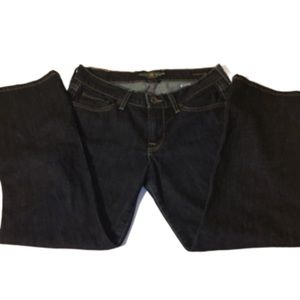 Lucky brand 6 Janet sweet and straight crop jeans